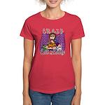 Crazy Cat Lady [Brunette] Women's Dark T-Shirt