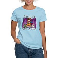 Crazy Cat Lady [Brunette] T-Shirt