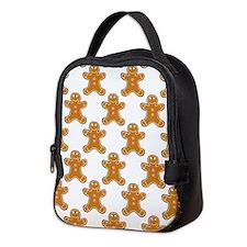 'Gingerbread Men' Neoprene Lunch Bag