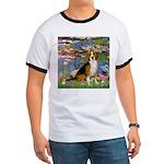 Lilies (#2) - Beagle #7 Ringer T