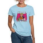 Crazy Cat Lady [Blonde] Women's Light T-Shirt