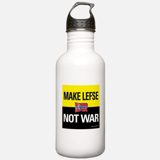 Make Lefse... Not War Water Bottle