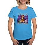 Crazy Cat Lady [Red Head] Women's Dark T-Shirt