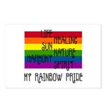 My Rainbow Pride Postcards (Package of 8)