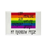 My Rainbow Pride Rectangle Magnet