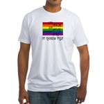 My Rainbow Pride Fitted T-Shirt