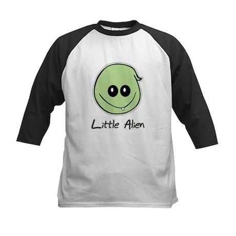 Little Alien Kids Baseball Jersey
