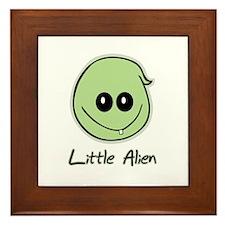 Little Alien Framed Tile