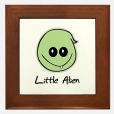 Little Alien Framed Tile
