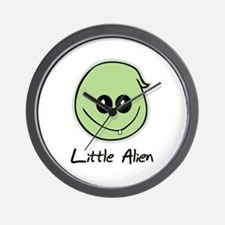 Little Alien Wall Clock