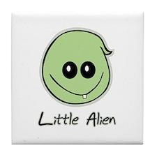 Little Alien Tile Coaster