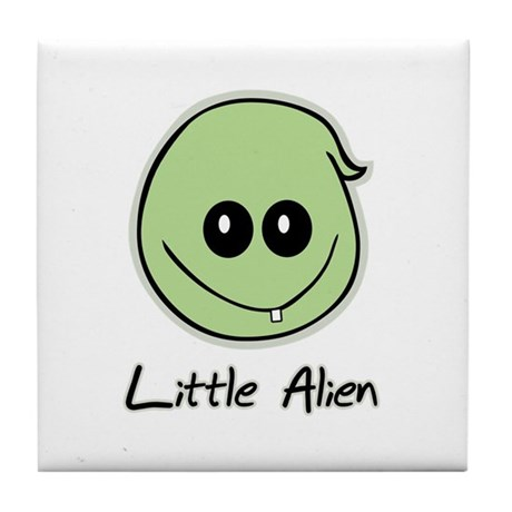 Little Alien Tile Coaster