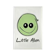 Little Alien Rectangle Magnet