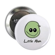 Little Alien Button