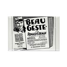 Ronald Colman Beau Geste Rectangle Magnet