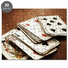 Rustic deck of cards Puzzle