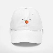 Give Peach a Chance Baseball Baseball Cap