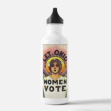 LET OHIO WOMEN VOTE Water Bottle