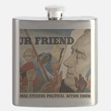 FDR OUR FRIEND Flask