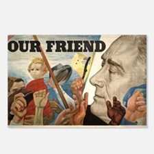 FDR OUR FRIEND Postcards (Package of 8)