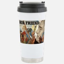 FDR OUR FRIEND Stainless Steel Travel Mug