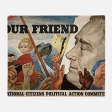 FDR OUR FRIEND Throw Blanket