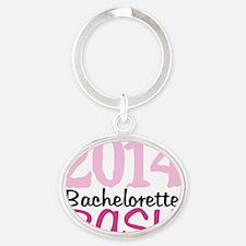 2014 Bachelorette Bash Oval Keychain