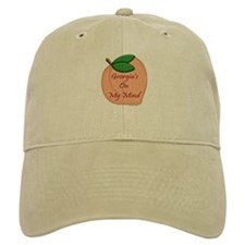 Georgia Minded Peach Baseball Cap