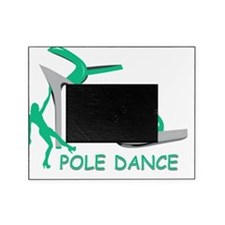 Pole Dance Girl Green Picture Frame