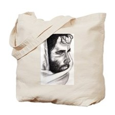 Pencil Jesus Tote Bag