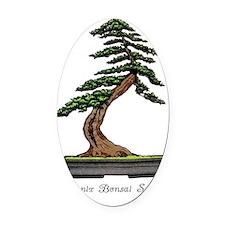 Phoenix Bonsai Society Oval Car Magnet