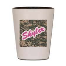 Camo Custom Skyler Shot Glass