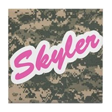 Camo Custom Skyler Tile Coaster
