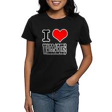 I Heart (Love) Wallabies Tee