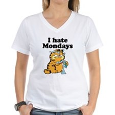 I Hate Mondays Women's V-Neck T-Shirt