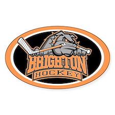 Brighton Bulldog Hockey Decal