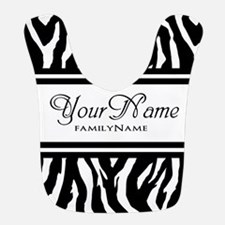 Custom Animal Print Bib