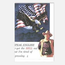 John Wayne ,patriotic, sp Postcards (Package of 8)