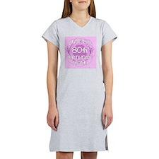 80th Birthday For Mom Women's Nightshirt