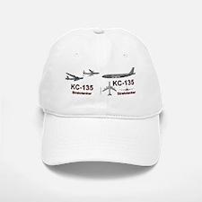 KC-135 Stratotanker re-fueling the B-52 Baseball Baseball Cap