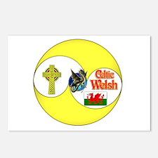 Celtic Welsh.:-) Postcards (Package of 8)