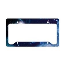 Universe License Plate Holder
