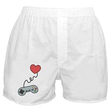 Don't play with my heart via game con Boxer Shorts