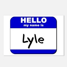 hello my name is lyle  Postcards (Package of 8)