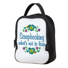 Scrapbooking to Love Neoprene Lunch Bag