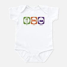 Eat Sleep Logging Infant Bodysuit