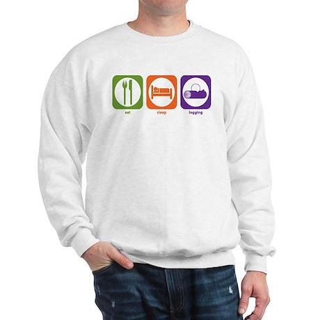 Eat Sleep Logging Sweatshirt