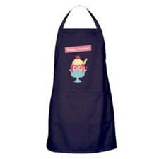 Have fun on Sundays with Cute and Hap Apron (dark)