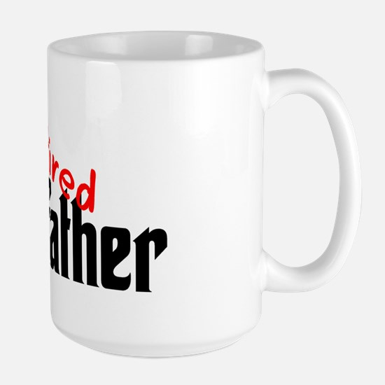 the colon father retired Large Mug