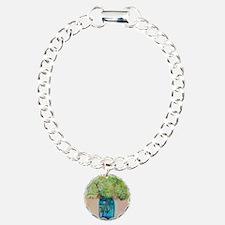 Flowers in Mason Jar Bracelet